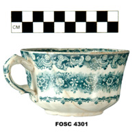 Cup, Molded, Transfer (view a)