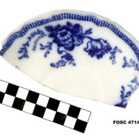 Saucer, Molded, Transfer (top)